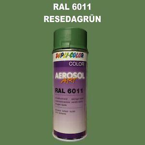 Dupli-Color-Pulverisation-400ml-Brillant-Ral-6011-Vert-de-Reseda-Voiture-Qualite