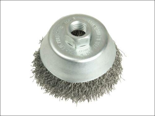 autres accessoires outil électrique-les421167 Coupe brosse 60mm M14 x 0,35 fil d/'acier