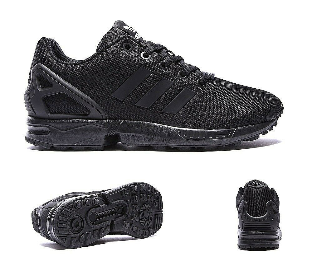 Brand New ZX FLUX Torsion Triple Black/Wht WMN/KDS/JUNIORS Size