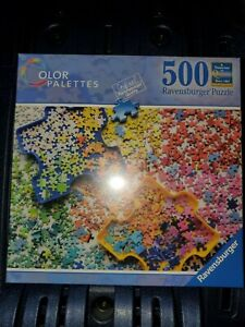 Ravensburger Color Palettes 500 Piece Puzzle No. 82 437 3 NIP Sealed
