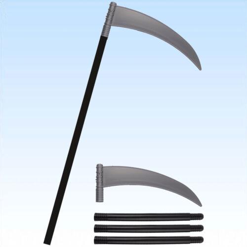 Sense ca 110cm Waffe für Kostüm Sensenmann Gevatter Tod Waffe Todesengel