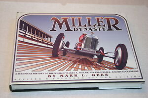 THE-MILLER-DYNASTY-BY-MARK-DEES-2ND-EDITION-W-DUST-JACKET-564-PAGES-EXCELLENT