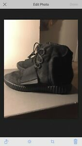 2efba6e27 Image is loading Adidas-Yeezy-750-Boost-Triple-Black-Size-9