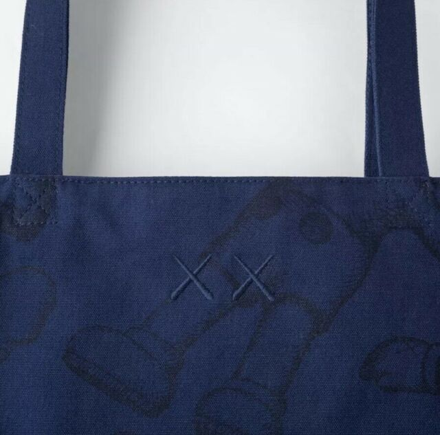 New Authentic KAWS Uniqlo Tote Bag NWT Deadstock DS