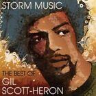 Gil Scott-heron Storm Music The Best of CD Jazz Soul Album 2010