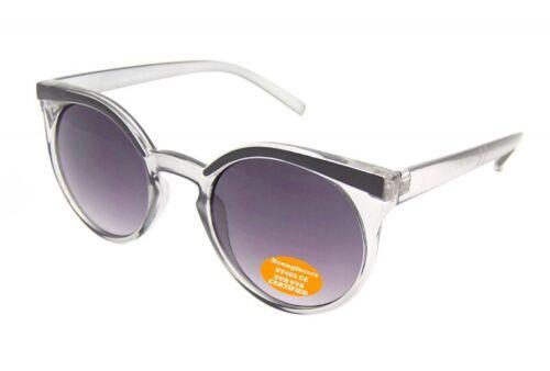 Vintage Limitierte Retro Designer Super Runde Cat Eye Promi Sonnenbrille