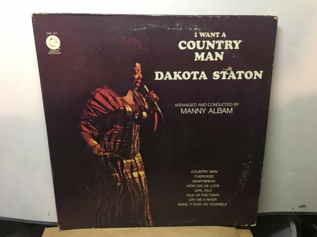 Dakota Staton I Want A Country Man Groove Merchant 522