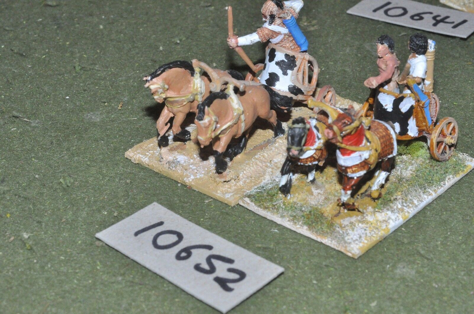 25mm biblical   egyptian - foundry 2 chariots - chariot (10652)