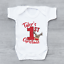 thumbnail 1 - Personalised My First 1st Christmas Xmas Polka Dot Reindeer Baby Grow Bodysuit