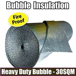 30m2 Radiantshield Air Bubble Cell Insulation Reflective
