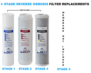 Pet Supplies Collection Here 4 Stage Reverse Osmosis Ro Complete Pre Filters Replacement Aquati Reverse Osmosis & Deionization