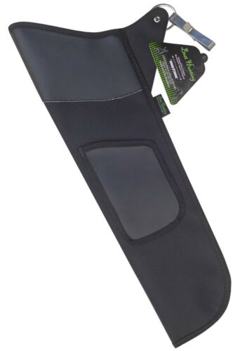 TRADITIONAL BLACK FABRIC SIDE HIP ARROW QUIVER ARCHERY PRODUCTS FAQ-111 BLACK