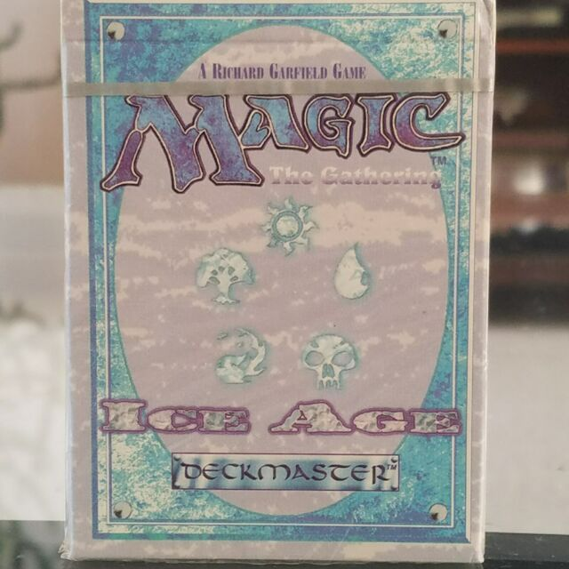 MTG Magic the Gathering Ice Age  Sealed Starter Deck