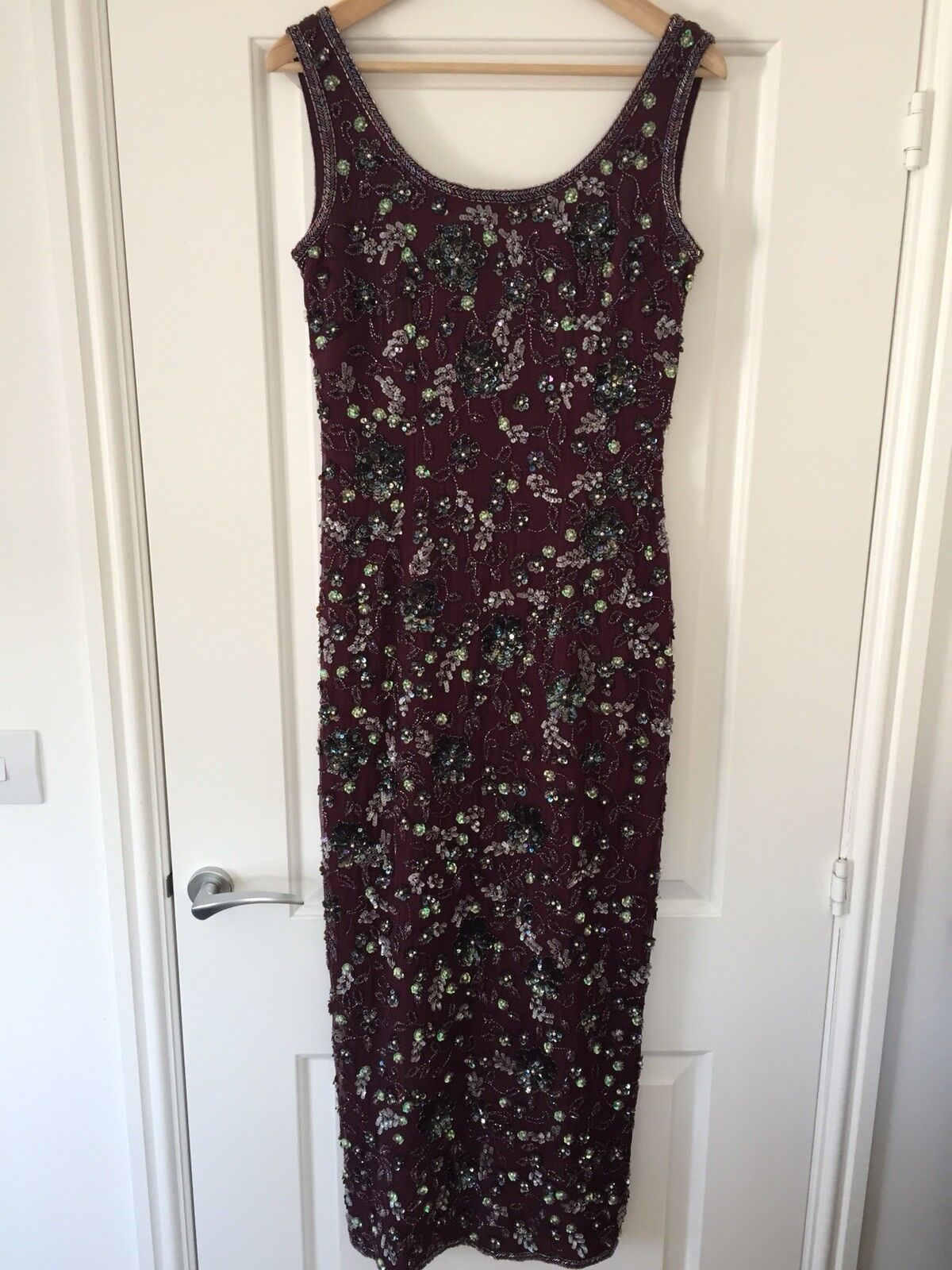 Vintage Twilight Monsoon Beaded Dress 10