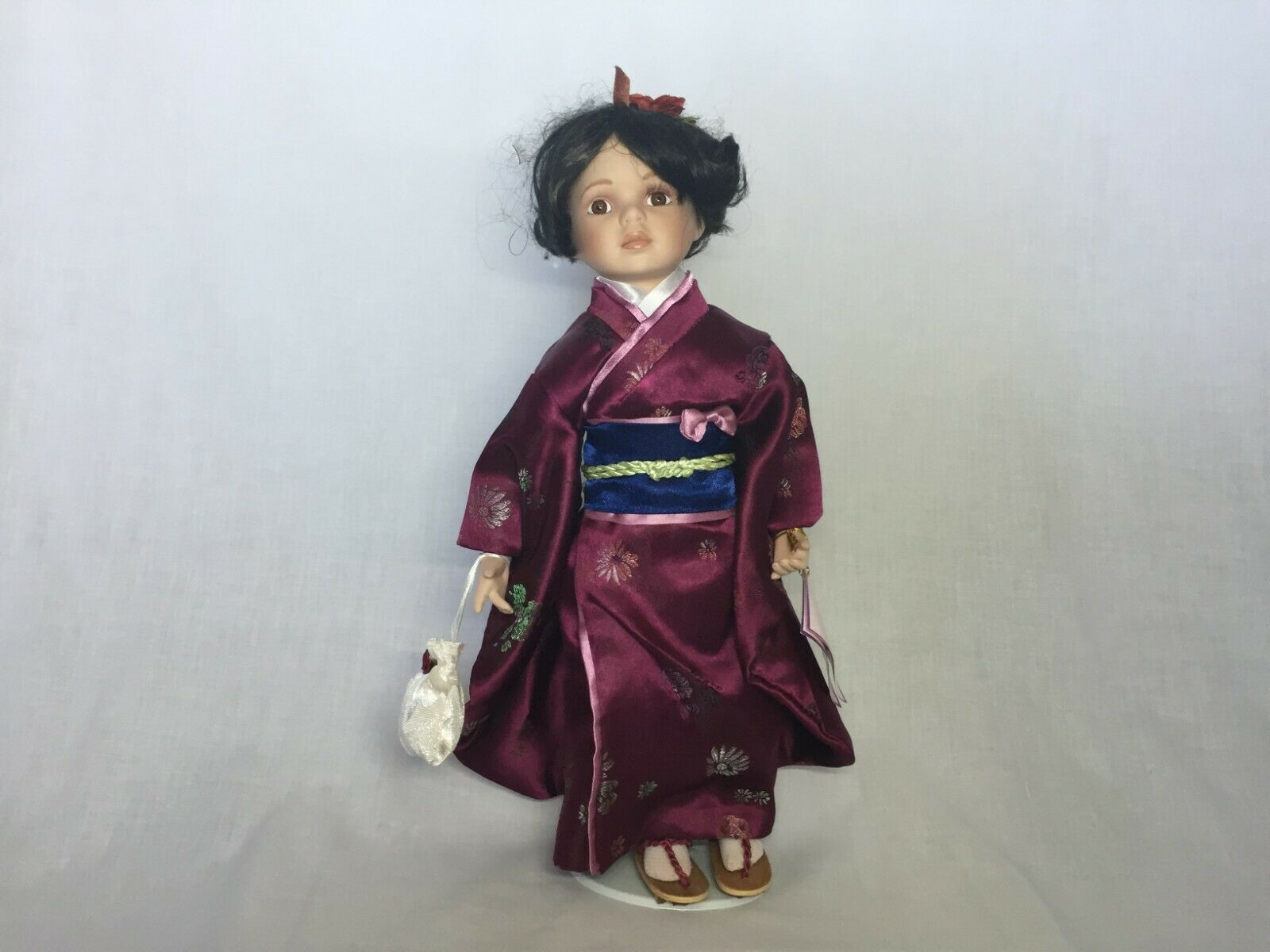 "Goldenvale Collection ""AILEEN"" Porcelain Doll"