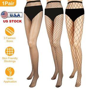 US WomEn Sexy-Lady Fishnet Pantyhose Fashion Tights High Waist Stockings Pattern