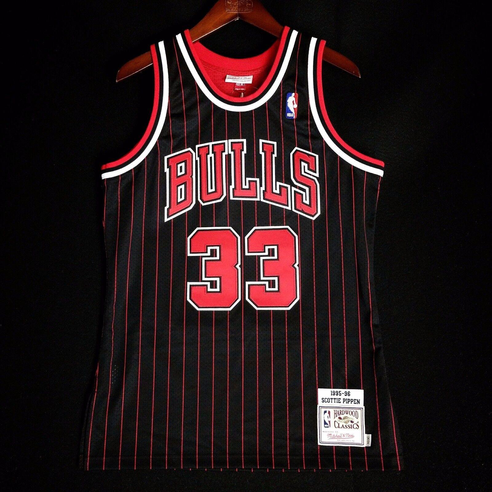 purchase cheap 9dbe4 3ac48 40 Size Jersey 95 Bulls Pippen Scottie Ness Mitchell ...