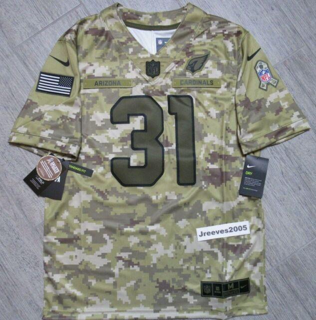 newest 7a306 a3467 Nike Salute to Service Arizona Cardinals David Johnson #31 Jersey Sz Medium