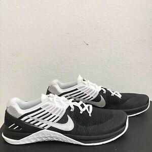 Nike Metcon DSX Flyknit Size 13 Training Black White Crossfit 852930-005 New