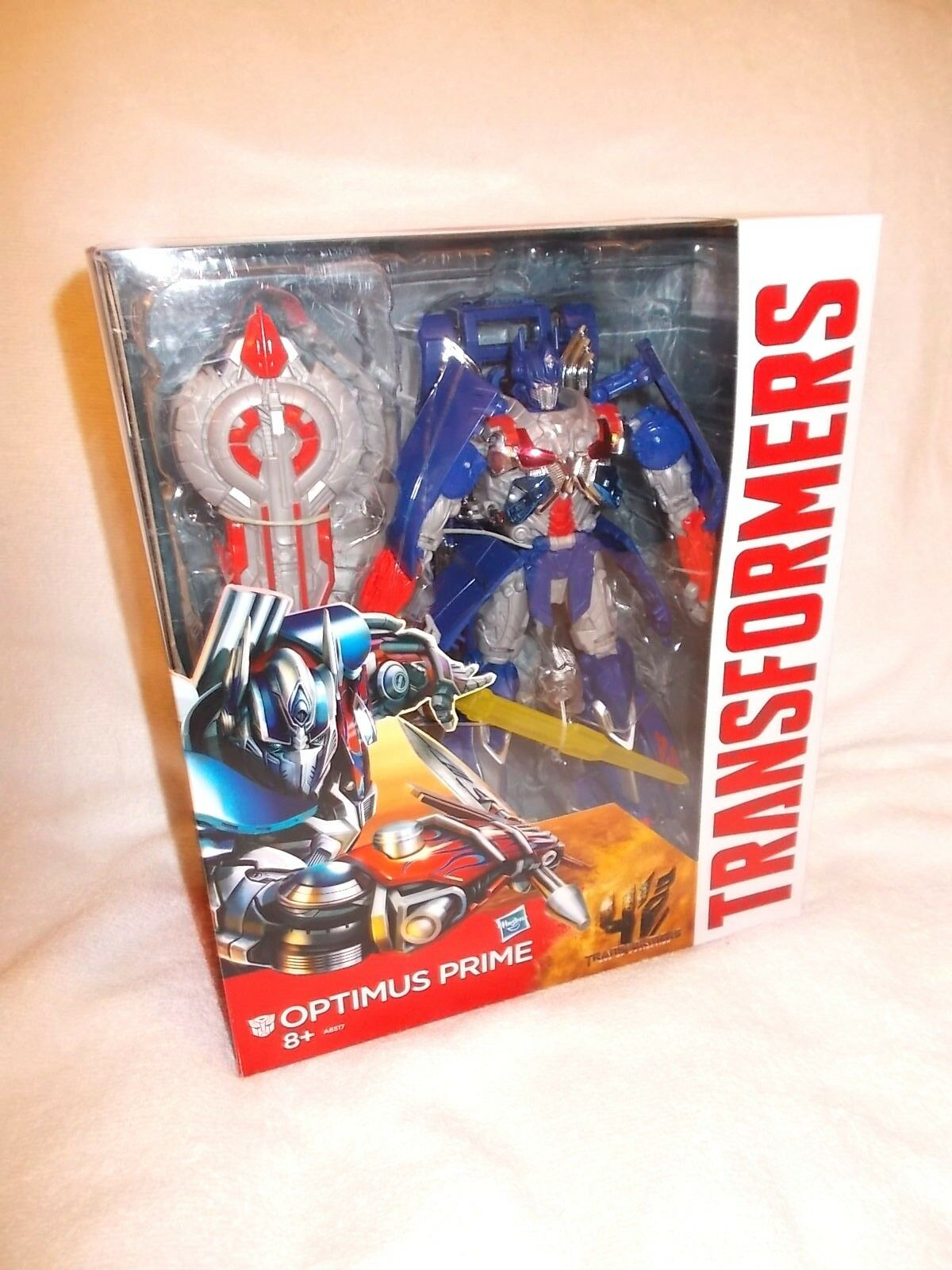 Transformers Action Figure Movie Age of Extinction Leader Optimus Prime 12 inch