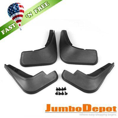 US 4Pcs Black Mud Flaps Splash Guards Fender Front Rear For Chevy Cruze 09-16