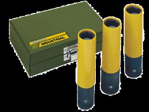"23970 17, 19, 21mm 3-tlg. Proxxon IMPACT Steckschlüsselsatz 1//2/"" 130mm lang"