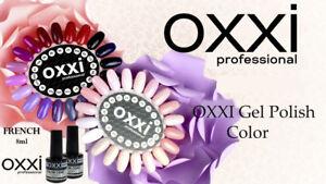 Gel-Color-Coat-OXXI-Professional-FRENCH-nail-polish-SOAK-OFF-UV-LED-8ml