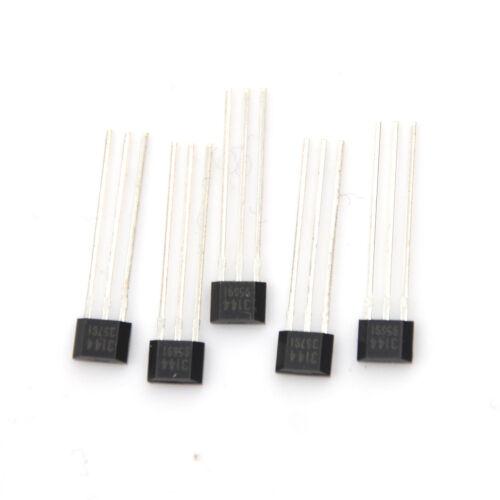 5 Pcs 3144 Hall-Effekt-Sensor-Magnetdetektor 4.5-24V TPI