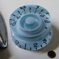 Pop-knob CHITARRA Manopola di Velocità in Baby Blue [ azzurro polvere ] accoppiamenti Gibson / Epiphone