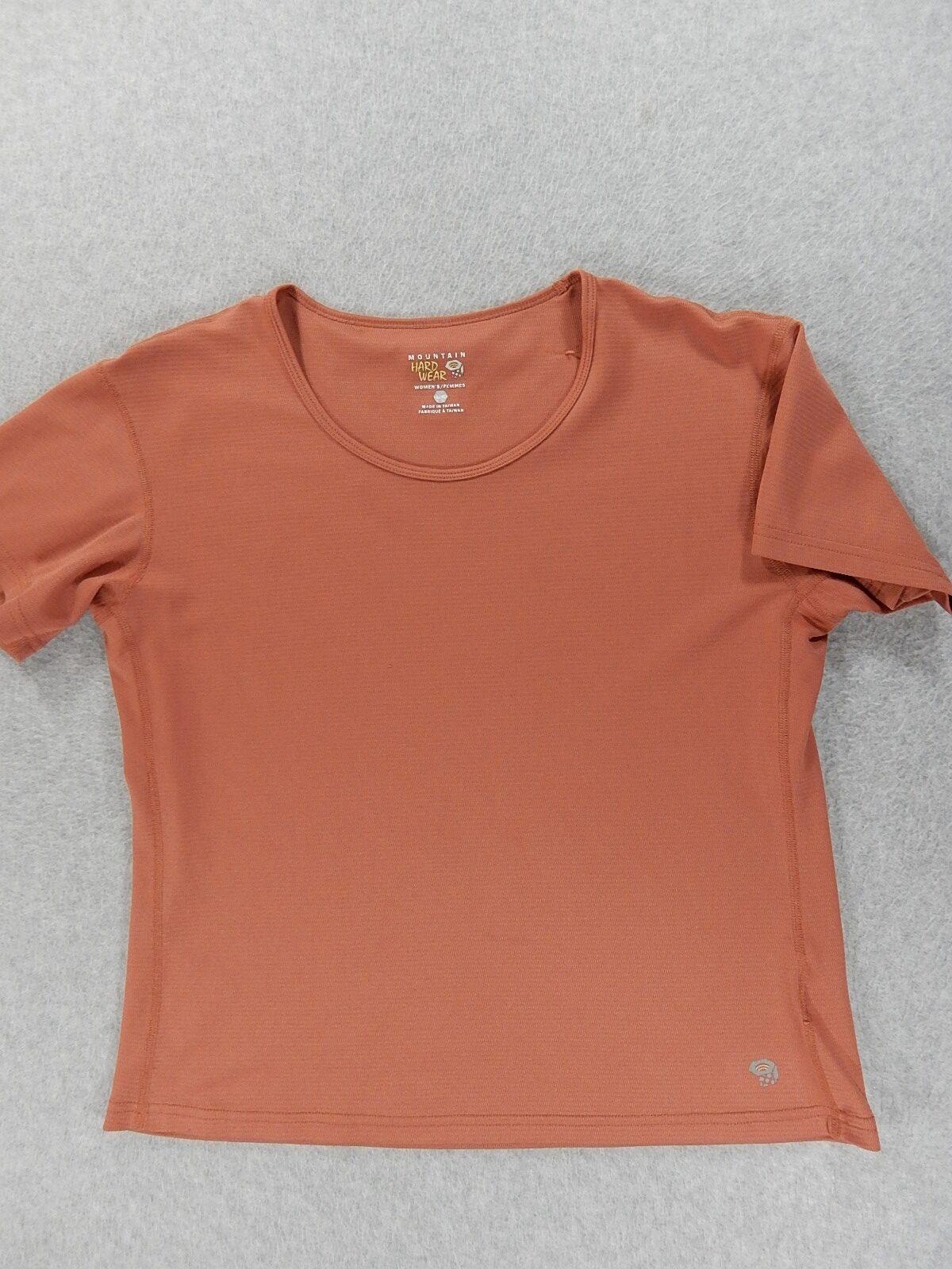 Mountain Hardwear Wicked Short Sleeve Shirt (Womens Large)