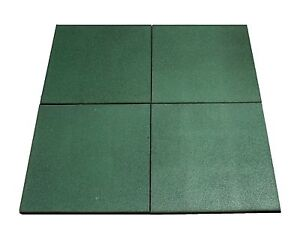 Hiks Green Rubber Indoor Outdoor Safety Protection Matting