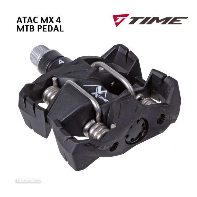 Time Atac MX 4 MTB Bici de Montaña sin Clip Pedales