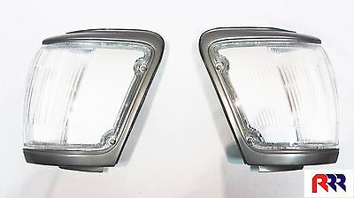 NEW CORNER LIGHT GRAY RIM TOYOTA HILUX 4RUNNER SURF 91-96 - PAIR (LH + RH)
