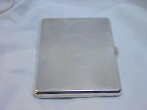 Vintage-sterling-silver-cigarette-case-1935-fully-hallmarked-engine-turned-185g