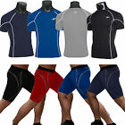 Mens Thermal Compression Base Under Layers T-Shirts Shorts Pants Tights Gym Gear