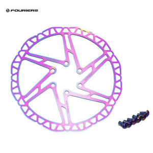 Fouriers 140//160//180//203mm MTB Road Bike Bicycle Brake Disc Floating Rotors NEW