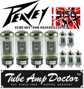 Tube-Set-for-Peavey-5150-guitar-amp-Tube-Amp-Doctor-vacuum-valve-tubes