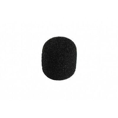 1 Bonnette Anti Vent Pour Micro Diamétre 12 à14 Mm Dimension 20 X 22 Mm Noire