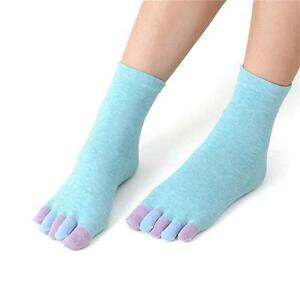 Long-Colorful-Hose-Sock-Cotton-Socks-Toe-Socks-Women-Socks-Five-Fingers-Socks