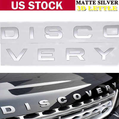 Car Accessories Hood Emblem Logo Rear Badge Sticker Decal Fit For Land Rover