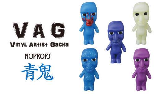 MEDICOM VAG VINYL ARTIST GACHA Full set NoPROPS  bluee Demon  Series 13
