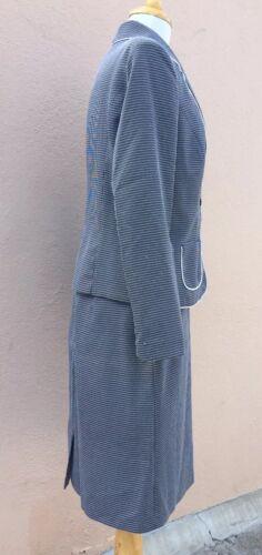 2 8 Elegante lavoro Completo Blazer Bianco pezzi Cara Allyson Completo Nero Gonna wBqCTCt