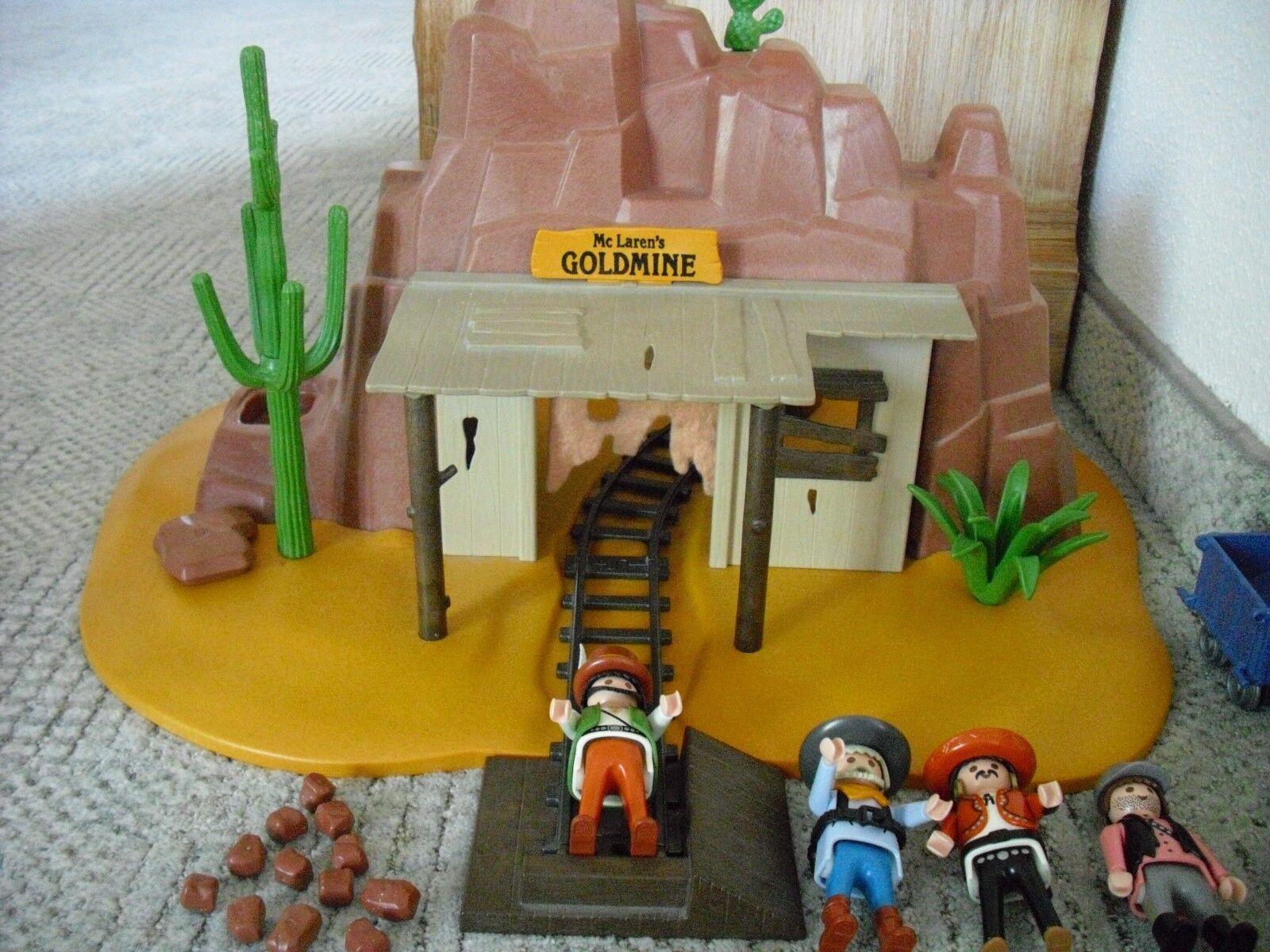 Playmobil Western - 3802 - Goldmine - TOP