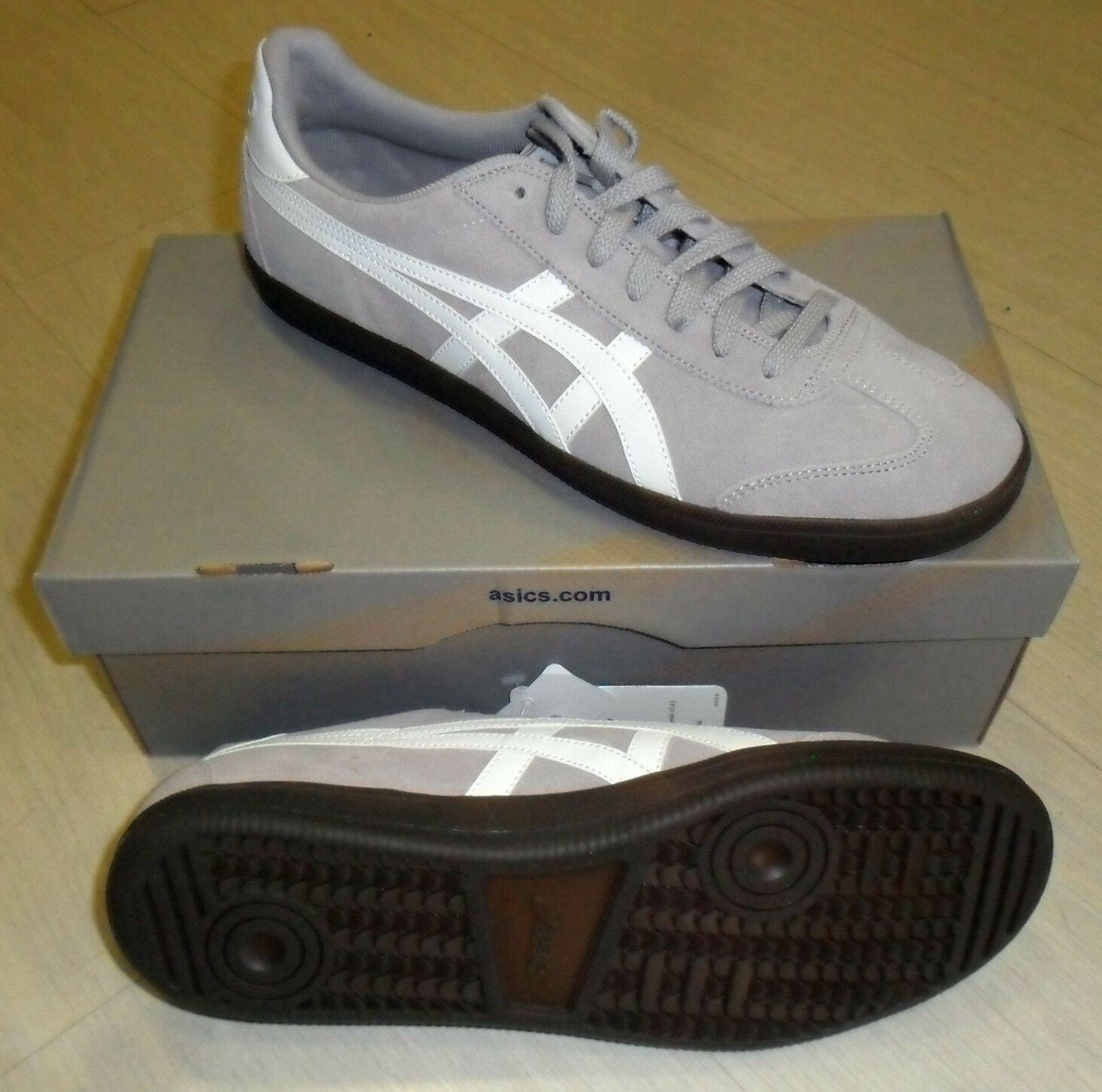 NR 40,5 ASICS AARON ONITSUKA SHOES MODE SHOES GYM H205L-1101 GREY