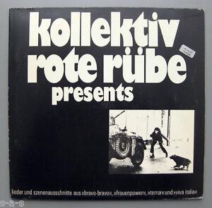 Kollektiv-Rote-Ruebe-W-Dauner-Presents-Lieder-und-Szenenausschnitte-Lp