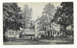 OLNEY-MD-Inn-Restaurant-Vintage-Black-amp-White-Maryland-Postcard-Early-Old-PC