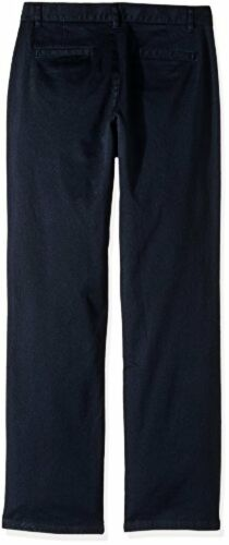 Nautica Childrens Apparel Big Boys Flat Front Twill Stretch Pant