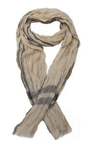 Foulard-cheche-echarpe-beige-camel-pour-homme-175-x-50-cm