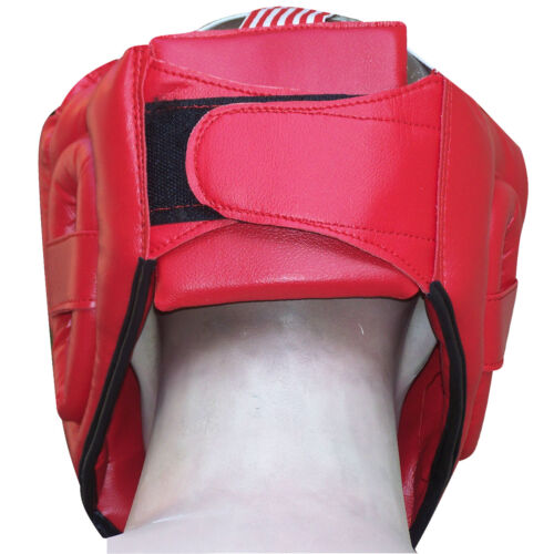Leather Boxing Head Guard Helmet Face Protector Head Protection Mens,Ladies