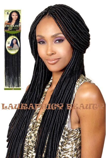 bobbi boss faux locs dread crochet brading hair 4 ebay